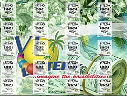 VI Lottery Money Tree Ticket