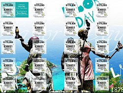 VI Lottery Labor Day Ticket