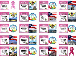 Breast Cancer Awareness VI Lottery Ticket