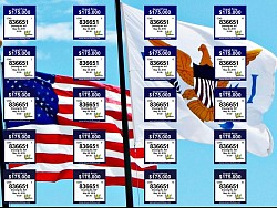VI Lottery American Flag Ticket is now on sale!