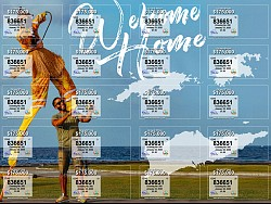 VI Lottery Drawing #950 - Welcome Home Ticket is Now on Sale!