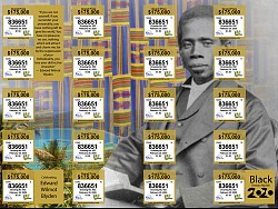 VI Lottery Drawing #952 - Celebrating Edward Wilmot Blyden Ticket is Now on Sale!