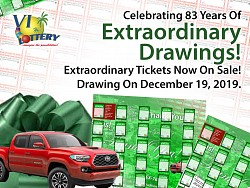 Christmas EX Ticket is now on sale! 83 years of Extraordinary drawings!