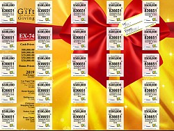 VI Lottery December Extraordinary Golden Ticket - The Gift That Keeps on Giving!