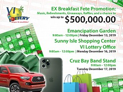 Christmas EX Breakfast Fete Promotion DEC 13, 16 & 17