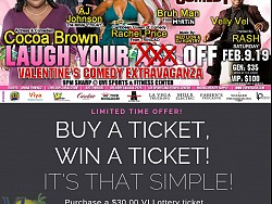 LYAO Comedy Show - Feb.9.19 - Buy a Ticket - Win a Ticket!