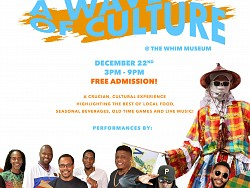 A Wave of Culture at The Whim Museum December 22nd 3PM - 9PM